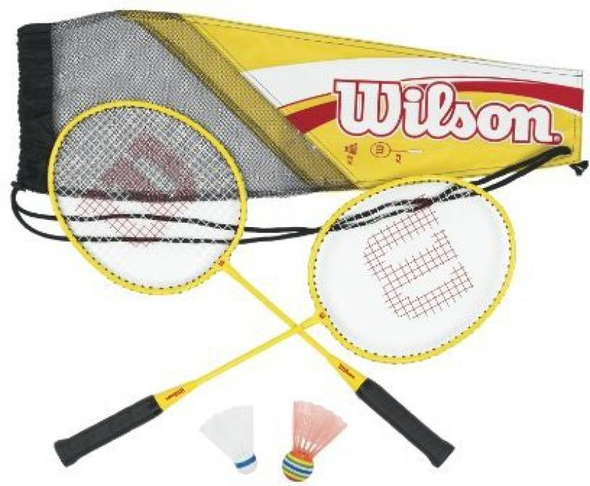 Wilson Kid's All Great Badminton Kit G4 Strung Badminton Racquet