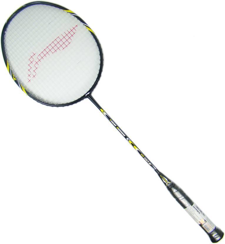 Li-Ning Ts 60 Ii Black Strung Badminton Racquet (S2 - Extra Small, 87 g)