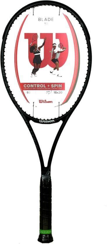 Wilson BLADE 93 Black Unstrung Tennis Racquet - Buy Wilson BLADE 93