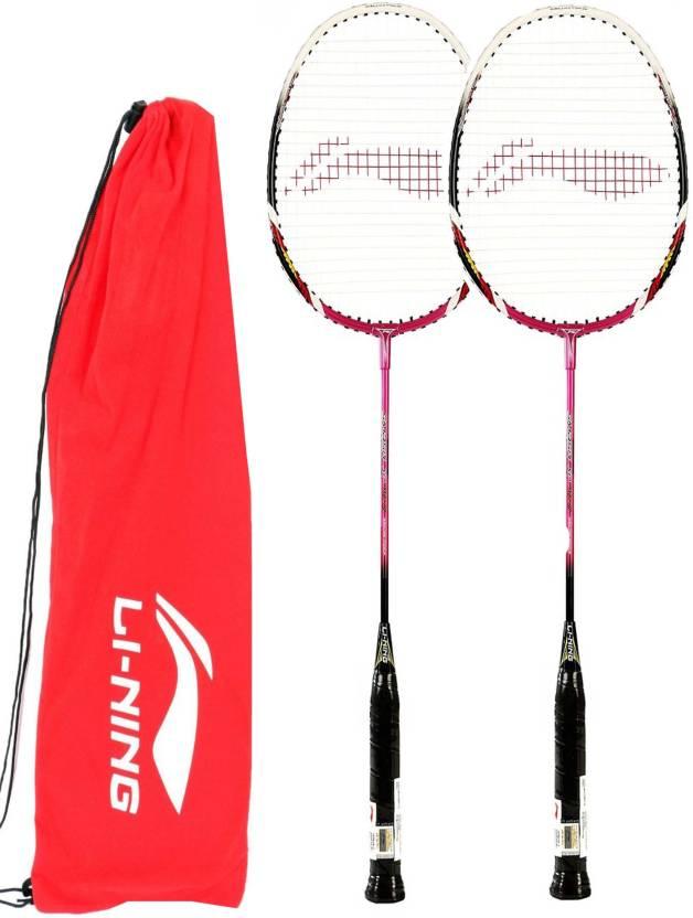 Li-Ning Smash XP70II G4 Strung Badminton Racquet (Multicolor, Weight - 85 g)