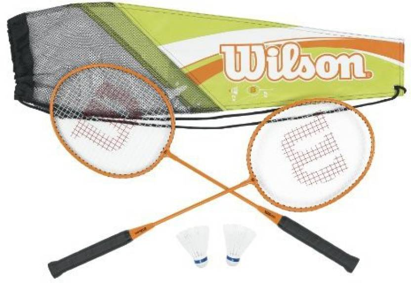 Wilson Adult's All Gear Badminton Kit G4 Strung Badminton Racquet