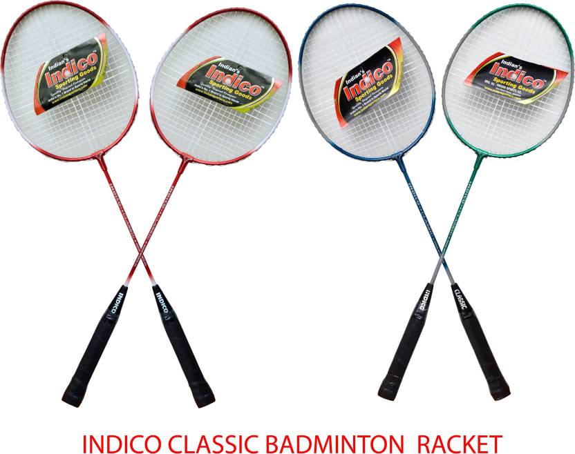 Indico Keeper Classic Badminton Racquet (Multicolor, Weight - 110 g)