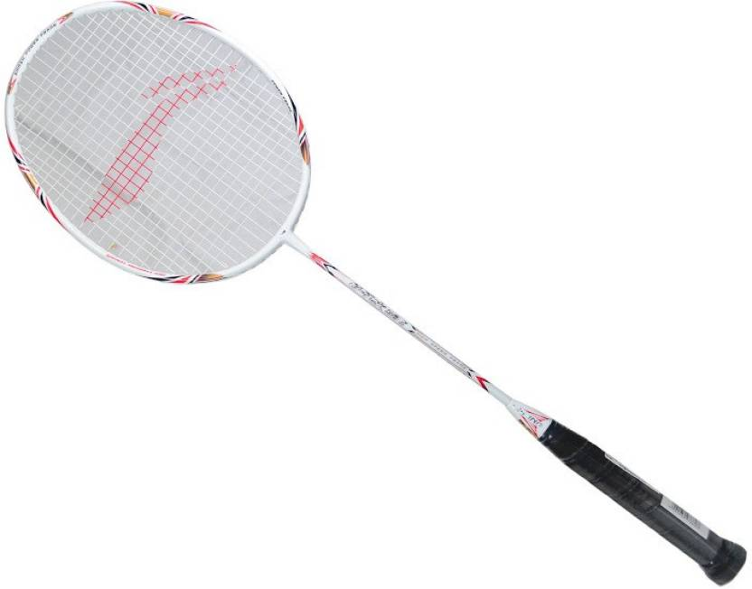li ning g tek 58 ii multicolor strung badminton racquet buy li