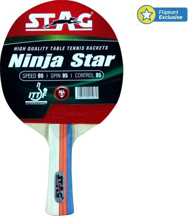 5e72b6107a Stag Ninja Star Red, Black Table Tennis Racquet - Buy Stag Ninja ...