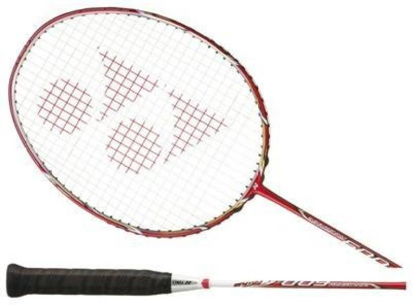 Yonex NANORAY 600_RED G4 Unstrung Badminton Racquet