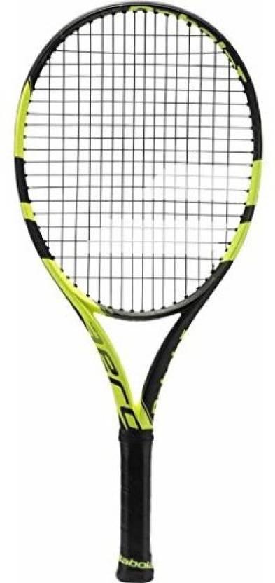 Babolat Pure Aero Junior 25 Tennis Racquet G4 Strung Tennis Racqu...