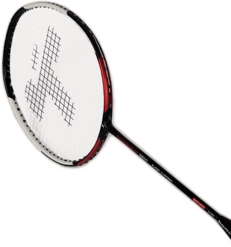 thwack badminton racket thunderbird 3800 multicolor strung