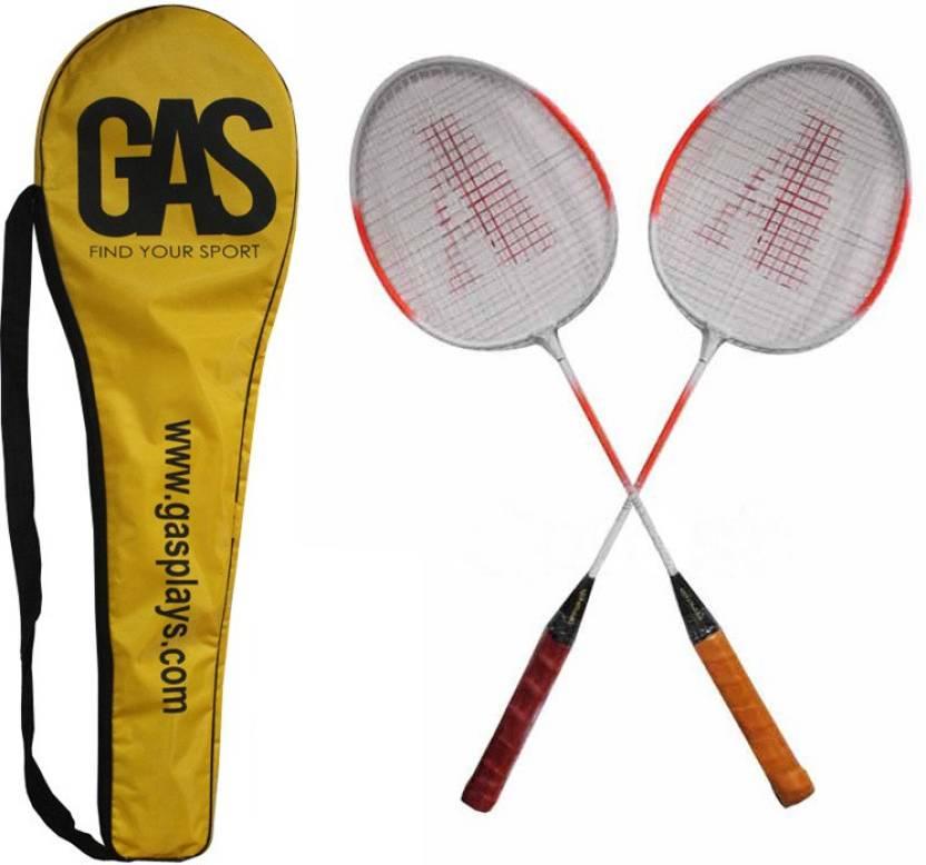 GAS Smash G4 Strung Badminton Racquet (Multicolor, Weight - 350 g)