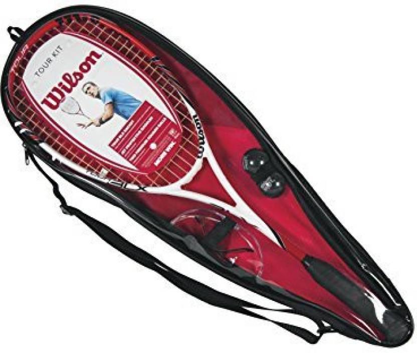 Wilson Tour Squash Kit G4 Strung Squash Racquet