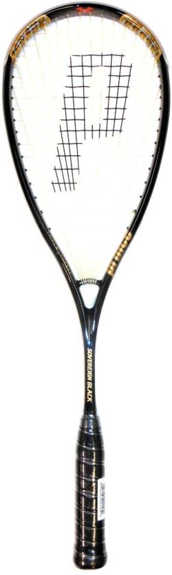 Prince TT Sovereign Black Squash Racquet G4 Strung Squash Racquet
