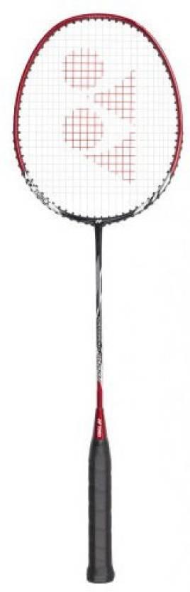 Yonex Nanoray 6000i G4 Strung Badminton Racquet (Black, Red, Weight - 90 g)