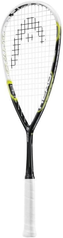Head Graphene Cyano Standard Strung Squash Racquet