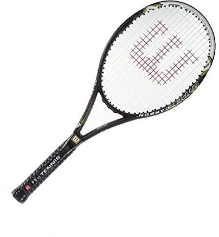 Wilson Hyper Hammer 5.3 Strung Tennis Racket G4 Strung Tennis Rac...
