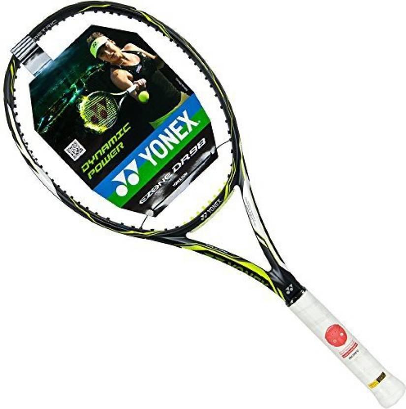 Yonex EZone DR 98 Tennis Racquet-4 1/2 G4 Strung Tennis Racquet