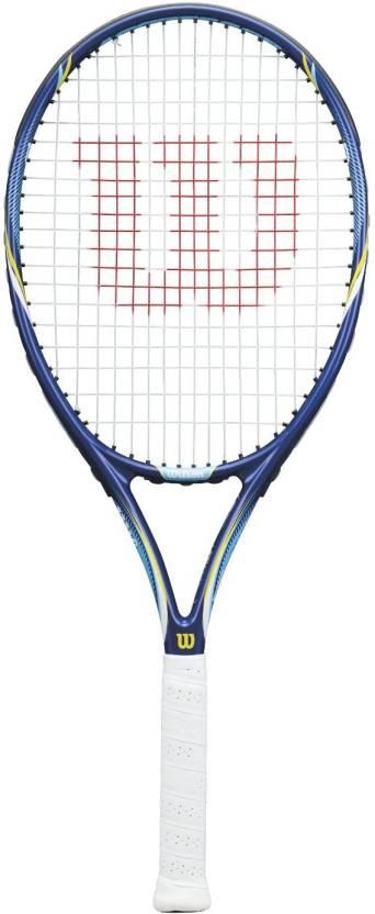 Wilson Aggressor Power 105 Tennis Racquet G4 Strung Tennis Racque...