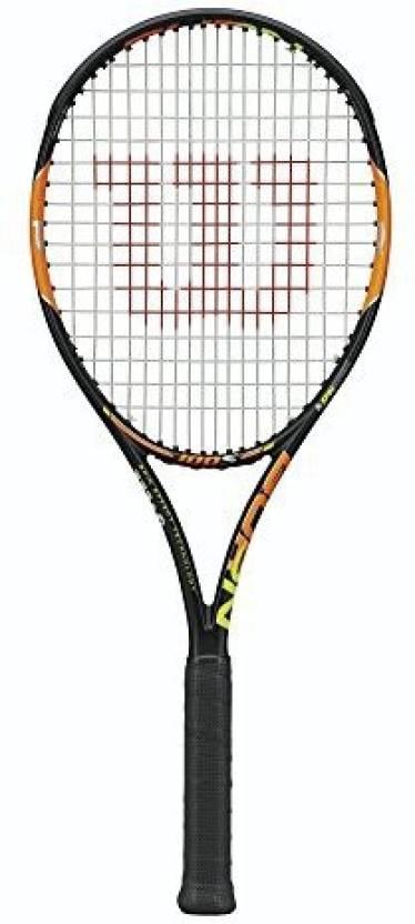 Wilson Burn 100S Tennis Racquet G4 Strung Tennis Racquet