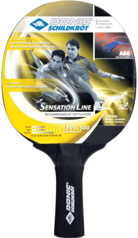 Donic Sensation 500 Table Tennis Racquet