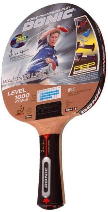 b2d4913fb Artengo by Decathlon DONIC-WALDNER-1000 Red Table Tennis Paddle - Buy  Artengo by Decathlon DONIC-WALDNER-1000 Red Table Tennis Paddle Online at  Best Prices ...
