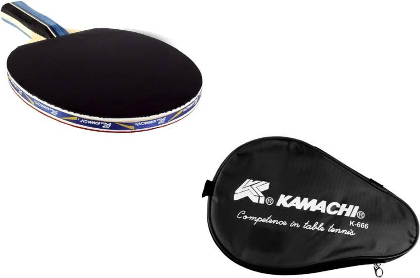Kamachi K-666 TT Bat With Full Body Cover G4 Unstrung Table Tenni...