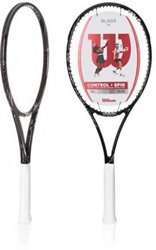 Wilson Blade 98 16 x 19 String Pattern Tennis Racquet Black
