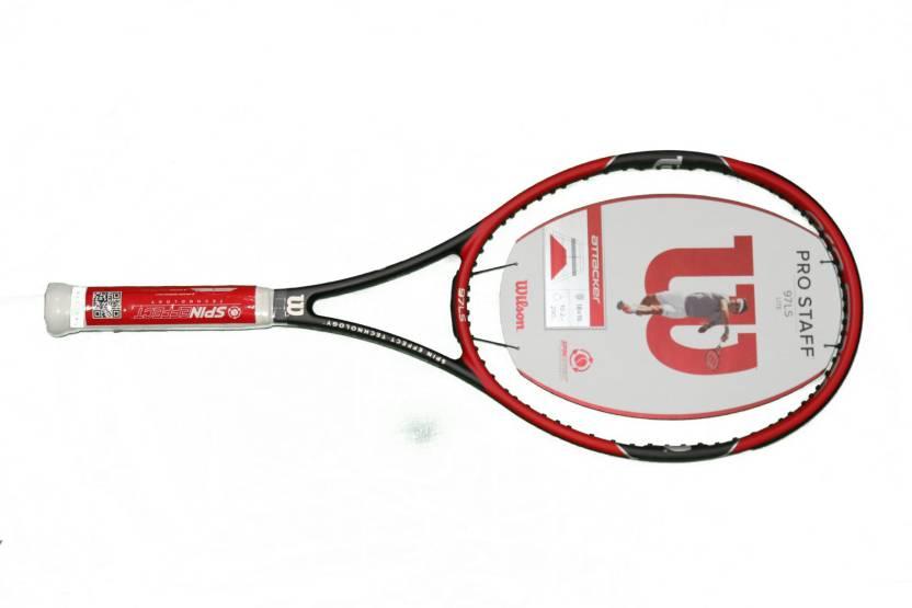 97eb7a57d Wilson Pro Staff 97 LS Lite Red Unstrung Tennis Racquet (G3 - 4 3 8 Inches