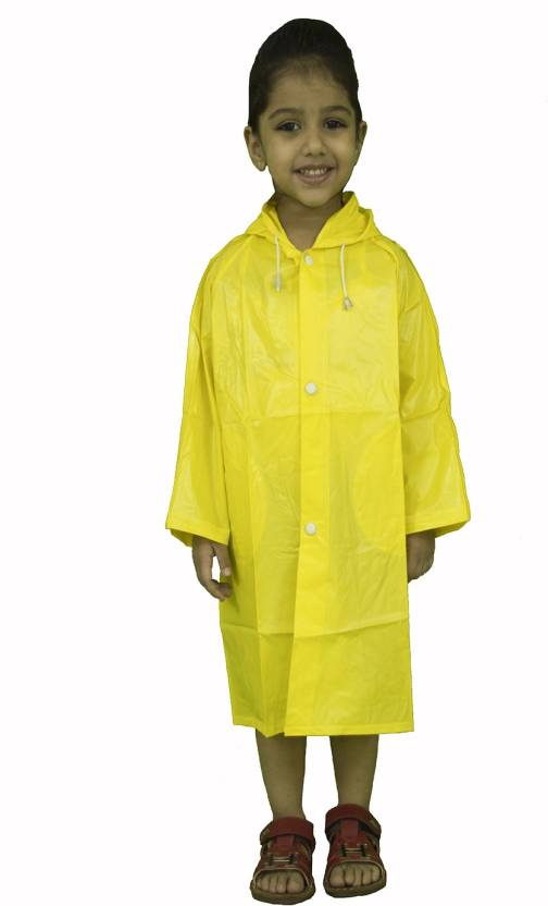 528fd27f78d1 Finery Solid Boys   Girls Raincoat - Buy Yellow Finery Solid Boys ...