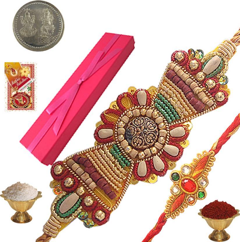 Little India Designer Rakhi- 22% OFF
