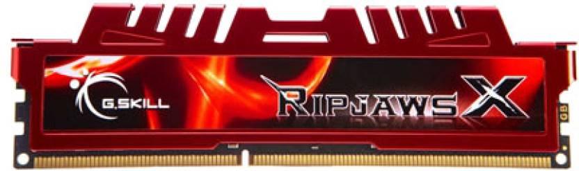 G.Skill RipjawsX DDR3 4 GB (1 x 4 GB) PC DRAM (F3-10666CL9S-4GBXL)