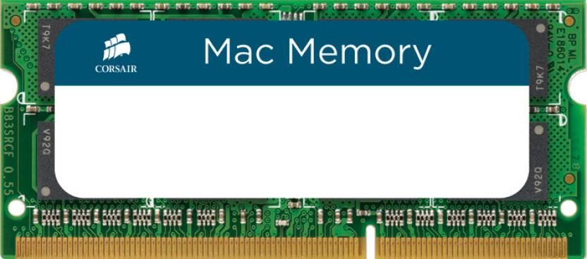 Corsair DDR3 Laptop (Mac) 4 GB RAM (CMSA4GX3M1A1066C7)