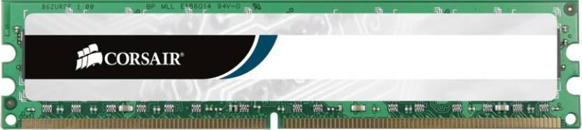 Corsair DDR3 8 GB (Single Channel) PC DRAM (CMV8GX3M1A1333C9)