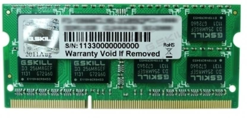 G.Skill SQ For MAC DDR3 4 GB Mac DRAM (FA-8500CL7S-4GBSQ)