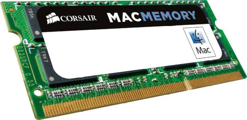 Corsair Apple Mac Series DDR3 4 GB (Dual Channel) Laptop (CMSA4GX3M1A1333C9)