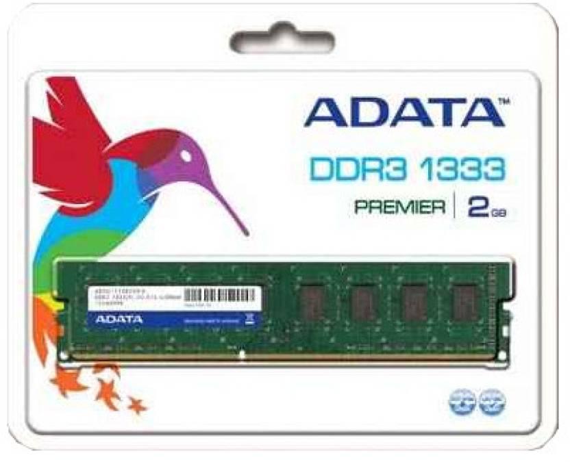 ADATA Premier DDR3 2 GB PC DRAM (AD3U1333C2G9-R)