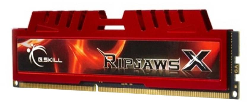 G.Skill RipjawsX DDR3 8 GB (Dual Channel) PC DRAM (F3-12800CL9D-8GBXL)