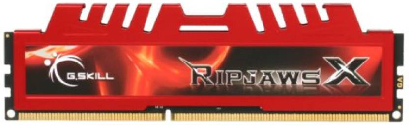 G.Skill RipjawsX DDR3 4 GB (Dual Channel) PC DRAM (F3-12800CL9D-4GBXL)