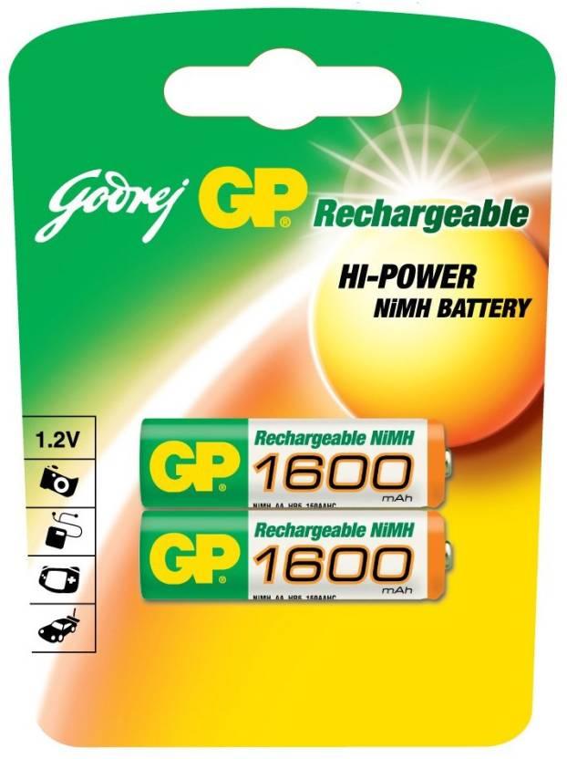 Godrej GP AA 1600mAh (2 Pcs)