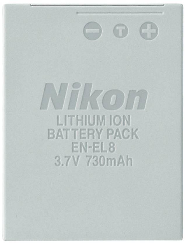 Nikon EN-EL8 Rechargeable Li-ion Battery