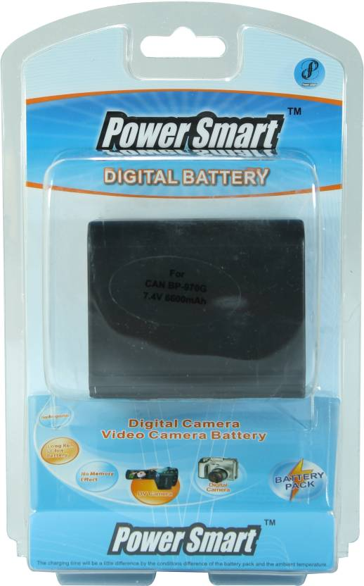 Power Smart 6600mah For Canon Bp 970g  Battery