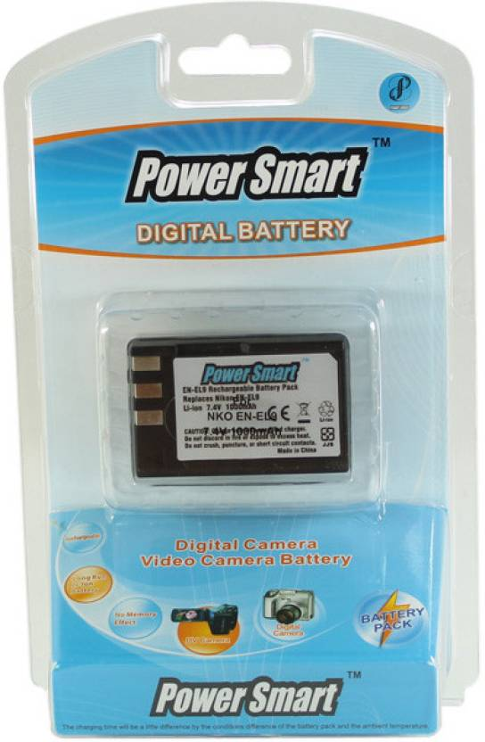Power Smart EN EL9, EN EL9A  Battery