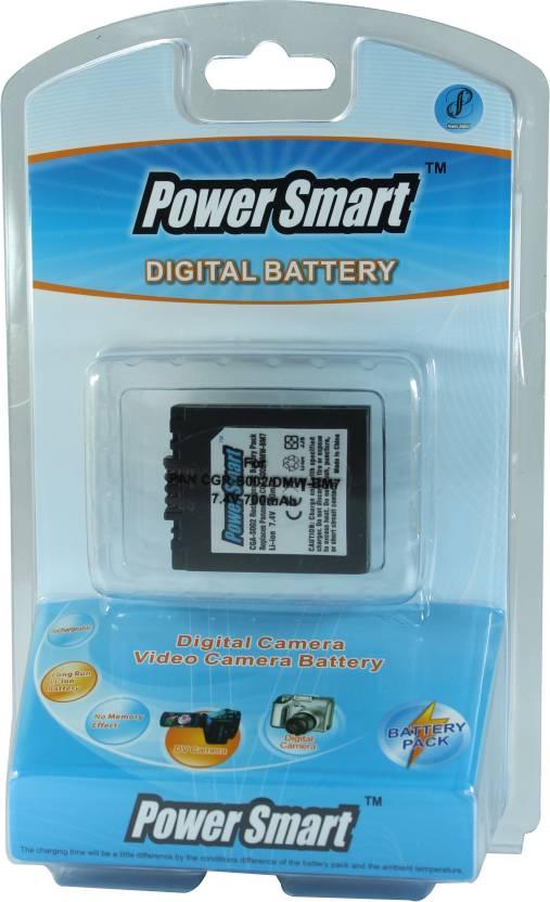 Power Smart 700mAh Replacement for Panasonic CGA S002 and DMW BM7 Battery