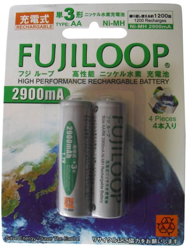 Fujicell Fujiloop (2900 mAh) Rechargeable Ni-MH Battery