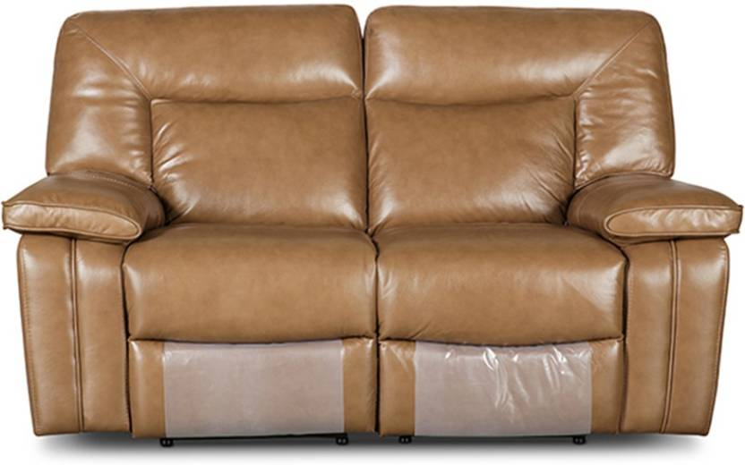 HomeTown Half-leather Powered Recliners