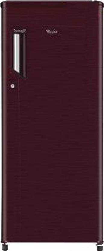 Whirlpool 190 L Direct Cool Single Door Refrigerator (205 GENIUS CLS PLUS 4S, Wine Titanium)