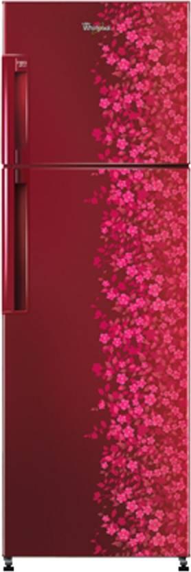Whirlpool 245 L Frost Free Double Door Refrigerator (NEO FR258 CLS PLUS 2S, Wine Titanium)