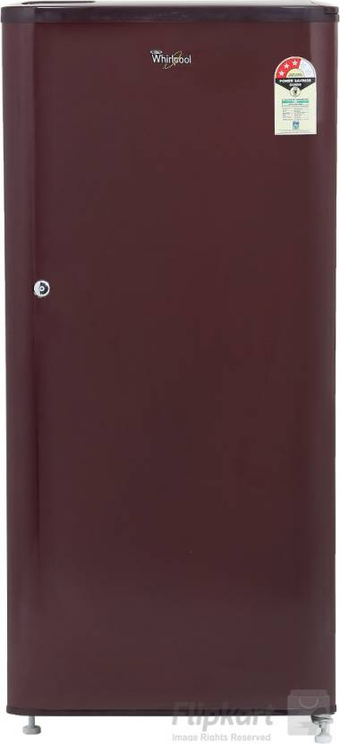 Whirlpool 190 L Direct Cool Single Door Refrigerator  (WDE 205 CLS 3S WINE, Solid Wine, 2017)