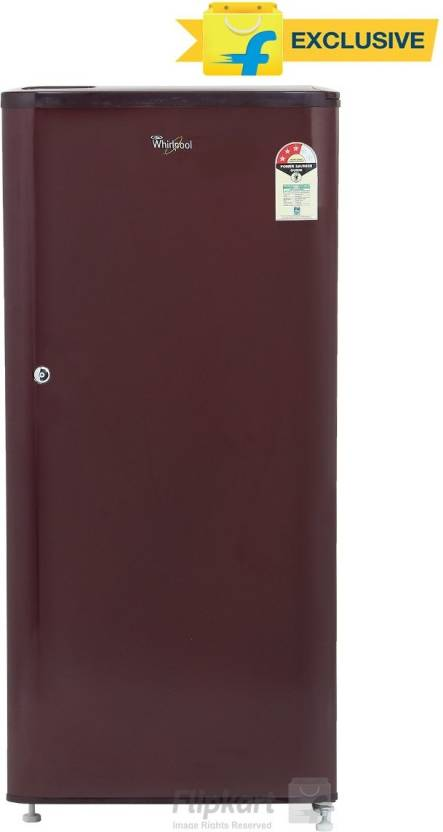 Whirlpool 190 L Direct Cool Single Door Refrigerator  (WDE 205 CLS 3S WINE, Solid Wine) By Flipkart @ Rs.10,990