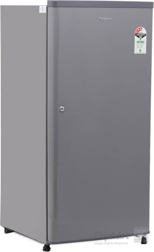 f32c151a4a6 Panasonic 190 L Direct Cool Single Door 1 Star Refrigerator (Silky Grey