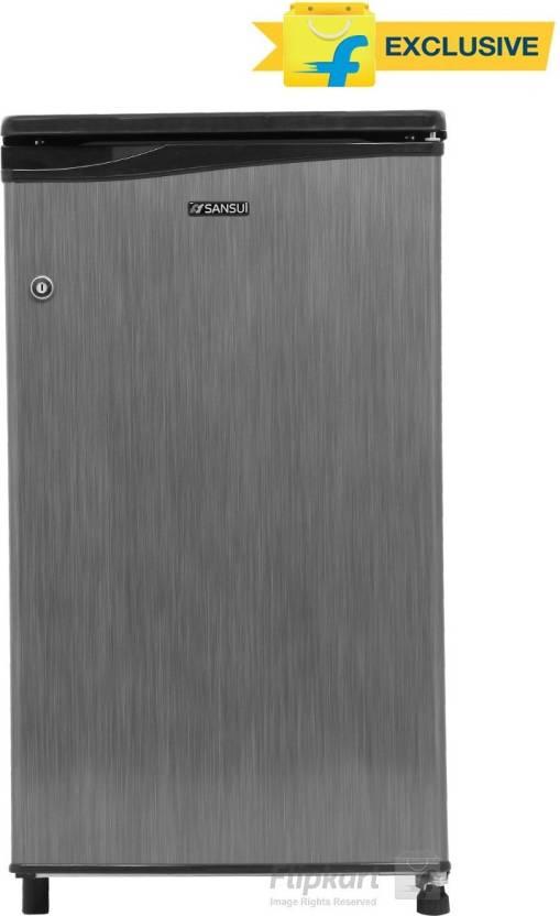 Sansui 80 L Direct Cool Single Door Refrigerator  (SC090LSH - FDW, Silver Hairline) By Flipkart @ Rs.6,489