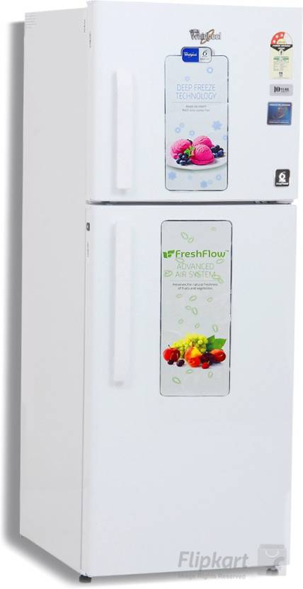 Whirlpool 245 L Frost Free Double Door 3 Star Refrigerator Online at on