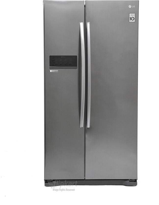 LG 581 L Frost Free Side by Side Refrigerator